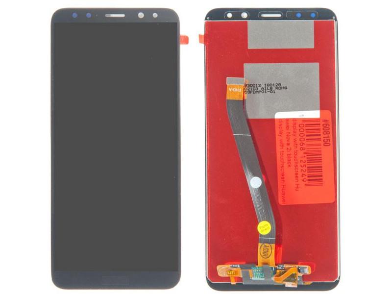 Дисплей RocknParts для Huawei Nova 2i Black 608150
