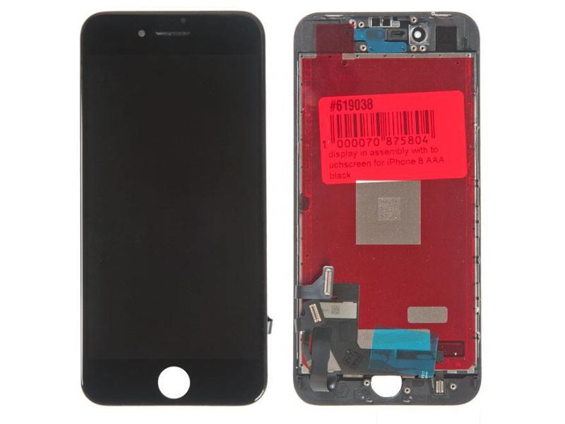 Дисплей RocknParts для APPLE iPhone 8 Black 619038