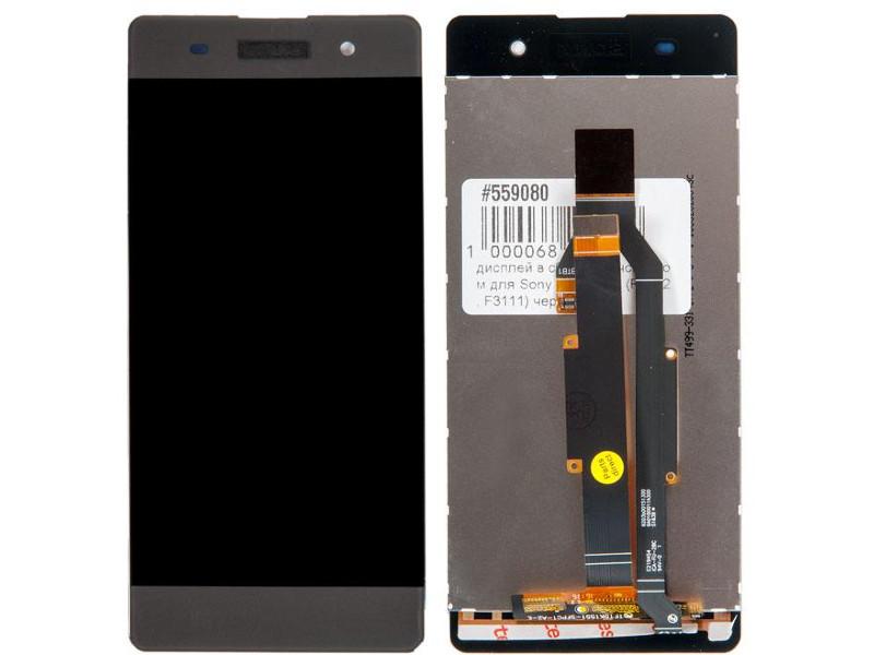 Дисплей RocknParts для Sony Xperia XA F3112/F3111 Black 559080