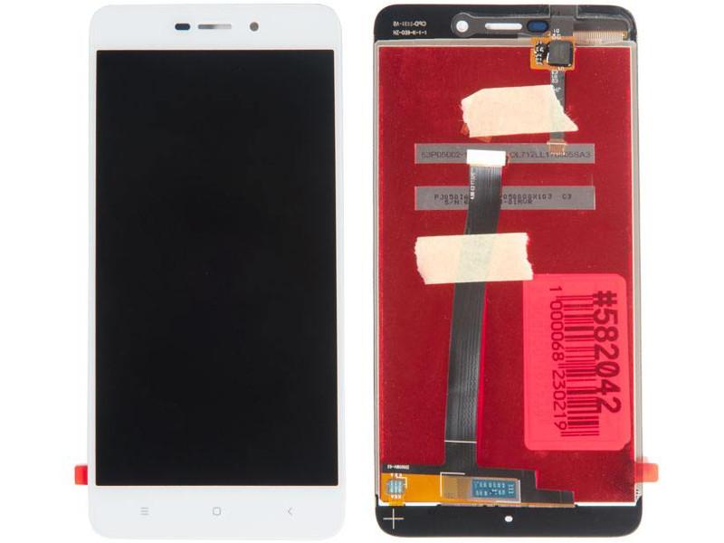 Дисплей RocknParts для Xiaomi Redmi 4A White 582042