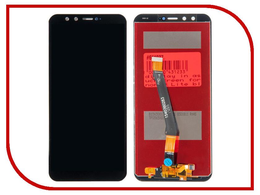 Дисплей RocknParts для Huawei Honor 9 Lite Black 611077