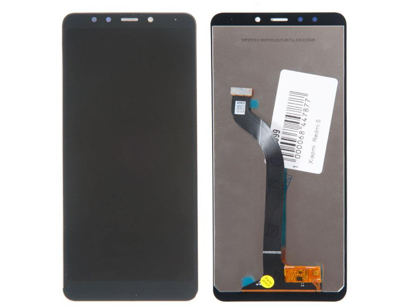 Фото - Дисплей RocknParts для Xiaomi Redmi 5 Black 618999 дисплей rocknparts zip для xiaomi redmi note 4x white