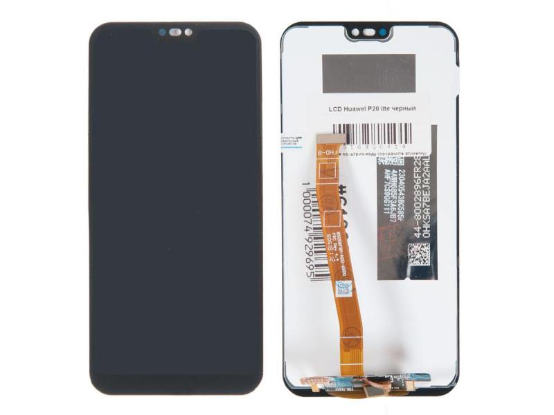 Дисплей RocknParts для Huawei P20 Lite Black 619006