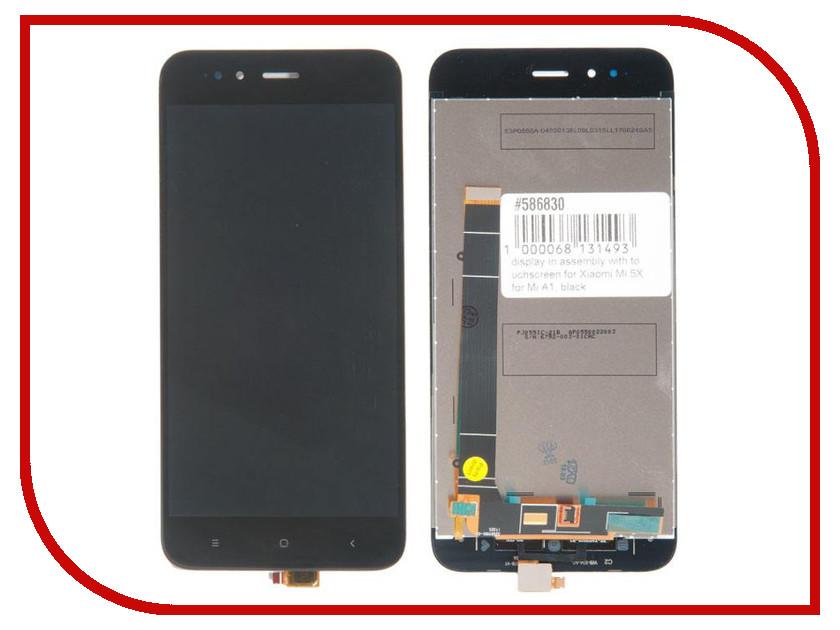 Дисплей RocknParts для Xiaomi Mi 5X/Mi A1 Black 586830 goowiiz полный красный mi 5x