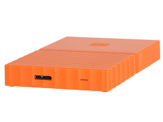 Жесткий диск Western Digital My Passport 1Tb Orange WDBBEX0010BOR-EEUE