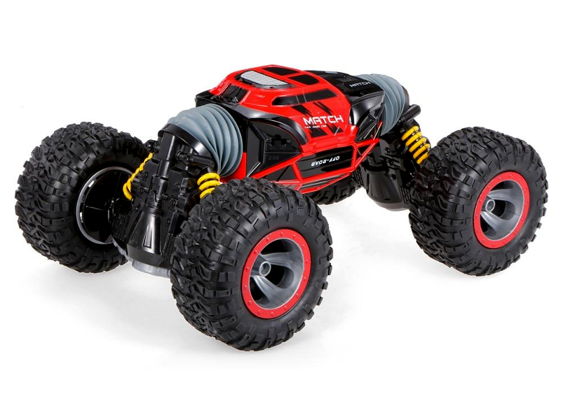 Игрушка Hyper Actives Stunt S (перевертыш) Red HASSR