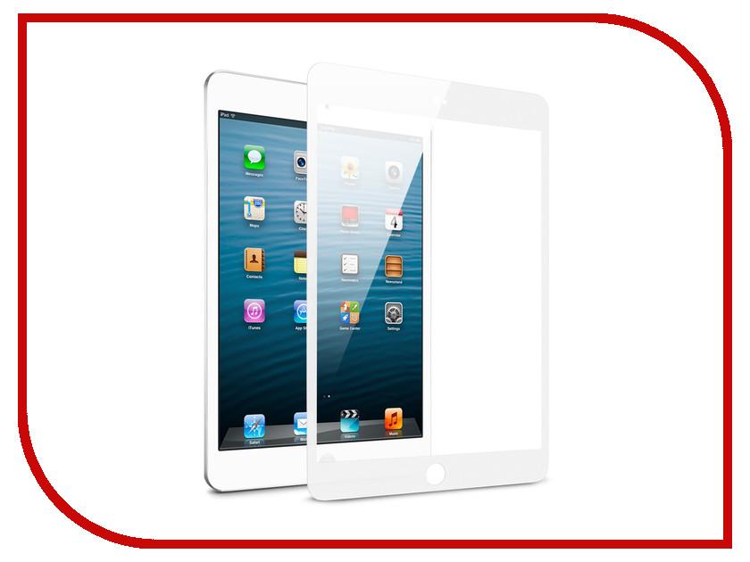 Аксессуар Защитное стекло для Apple iPad Mini 4 Zibelino TG 5D White ZTG-5D-IPAD-MINI4-WHT
