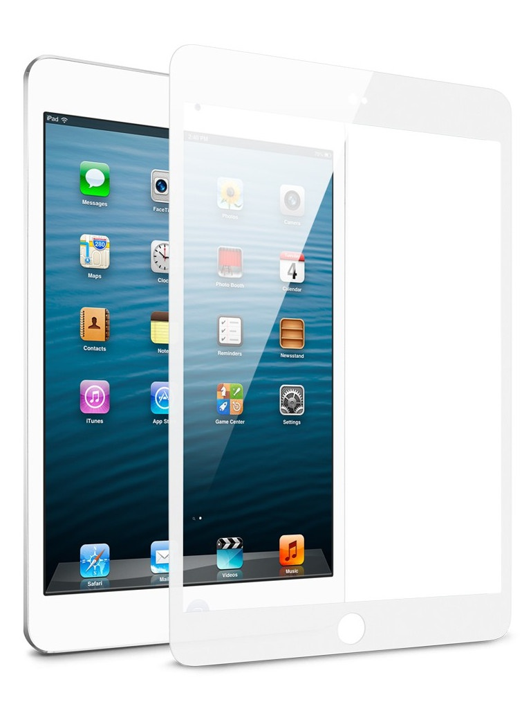 Защитное стекло Zibelino TG для Apple iPad Air 5D White ZTG-5D-IPAD-AIR2-WHT