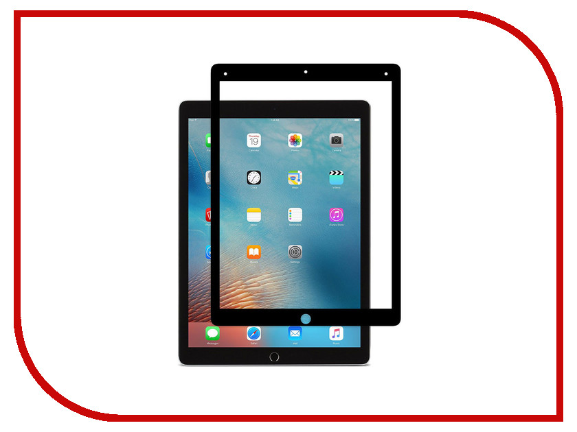 Аксессуар Защитное стекло для Apple iPad Pro 2018 12.9 Zibelino TG 5D Black ZTG-5D-APL-PRO-12.9-2018-BLK
