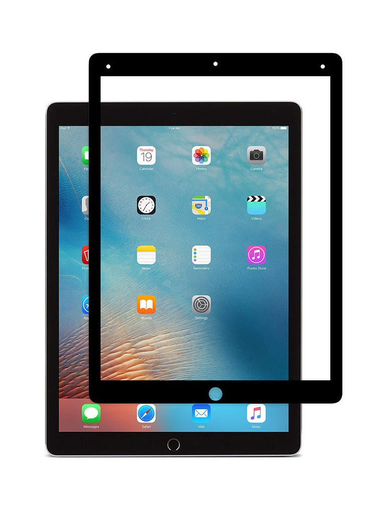 Аксессуар Защитное стекло Zibelino TG для Apple iPad Pro 2018 12.9 5D Black ZTG-5D-APL-PRO-12.9-2018-BLK