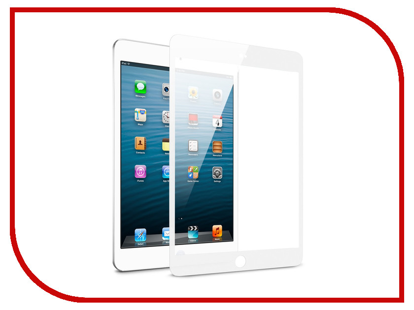 Аксессуар Защитное стекло для Apple iPad Pro 2017 10.5 Zibelino TG 5D White ZTG-5D-APL-PRO-10.5-WHT