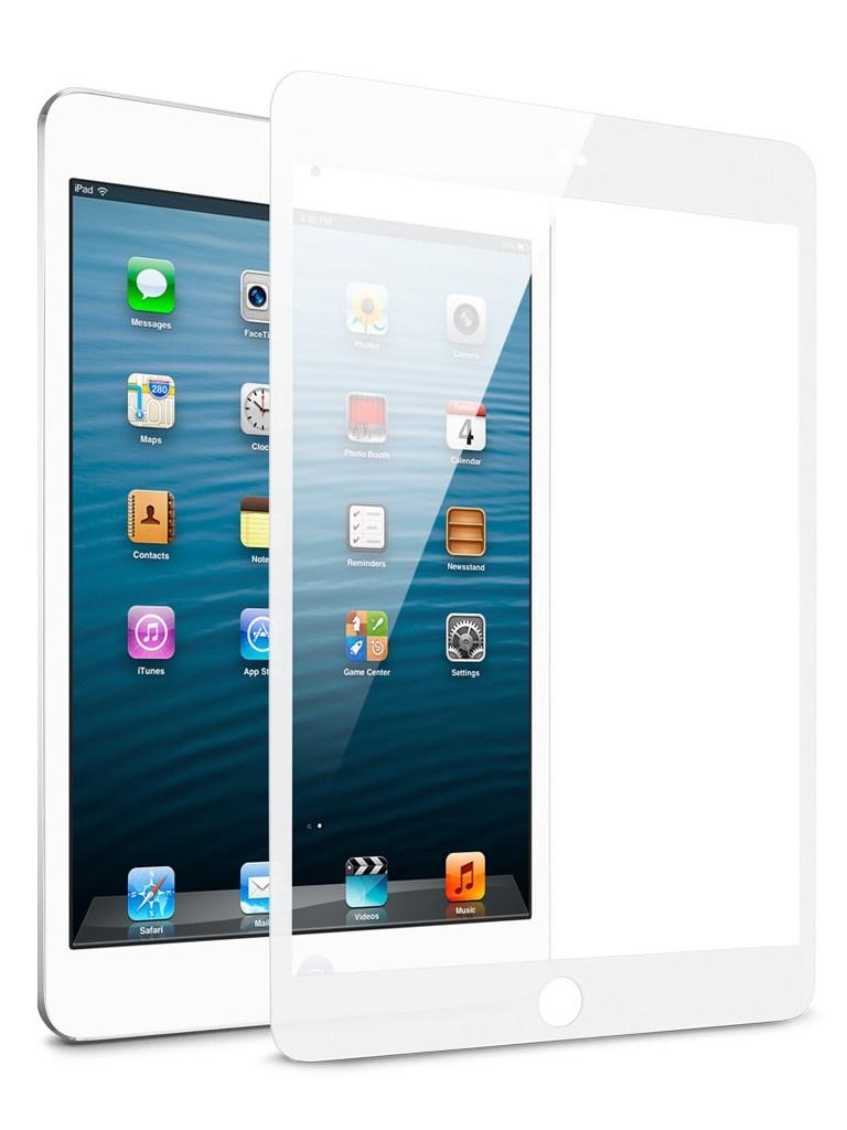 Аксессуар Защитное стекло Zibelino TG для Apple iPad Pro 2017 10.5 5D White ZTG-5D-APL-PRO-10.5-WHT