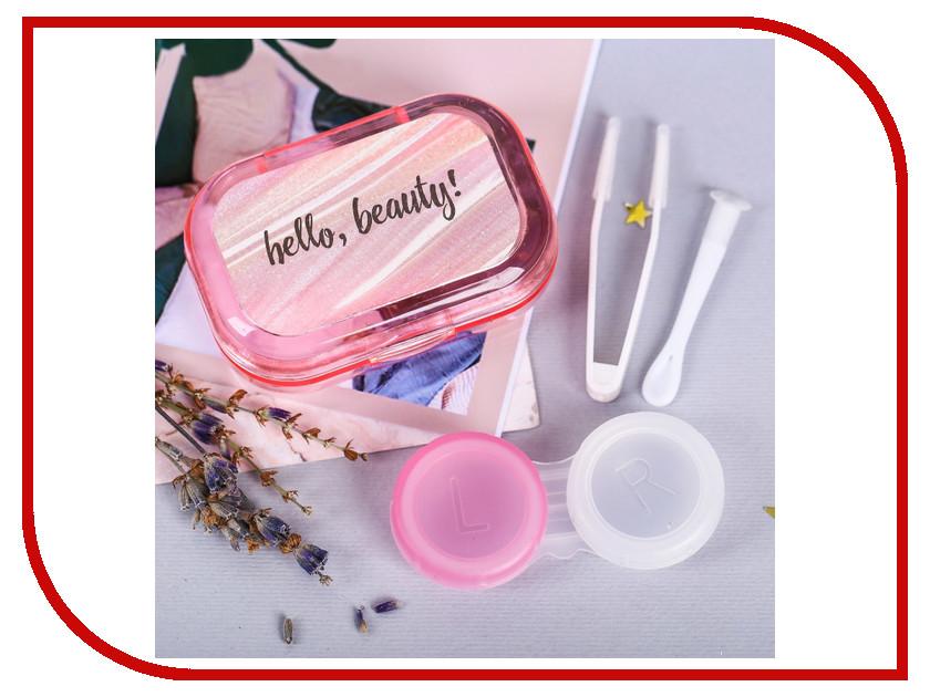 Фото - Контейнер для линз СИМА-ЛЕНД Hello, beauty! 4016203 контейнер для линз house creative