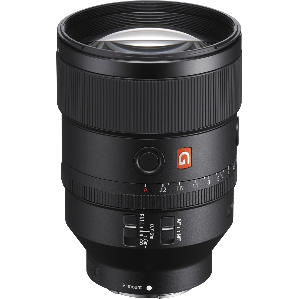 лучшая цена Объектив Sony FE 135mm f/1.8 GM (SEL135F18GM)