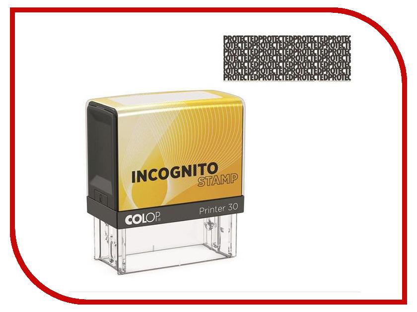 Штамп стандартный Colop Printer 30 Incognito incognito incognito adventures in black sunshine