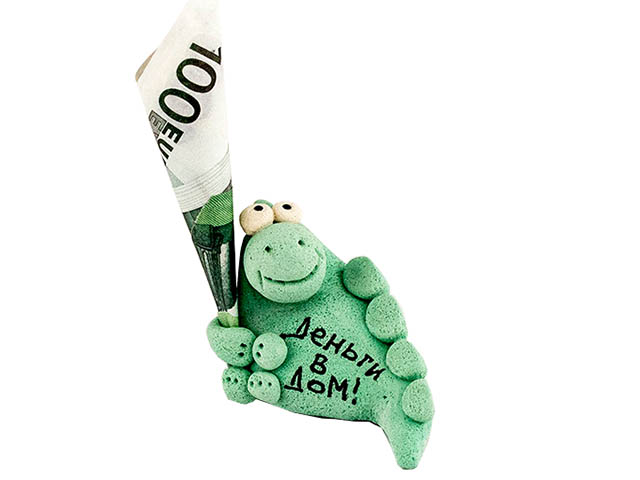 Фигурка Эврика Деньги в дом 93241 цена в Москве и Питере