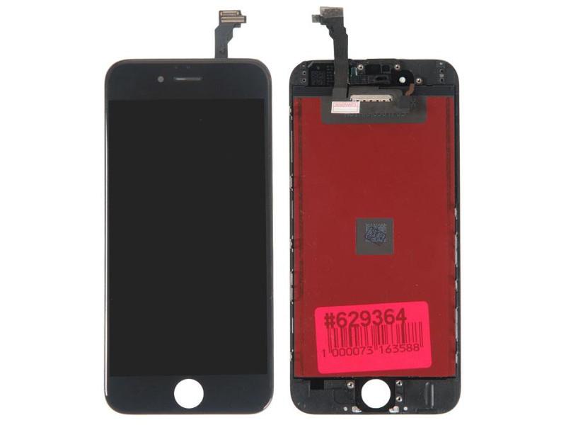 Дисплей RocknParts для APPLE iPhone 6 Black 629364 цена и фото