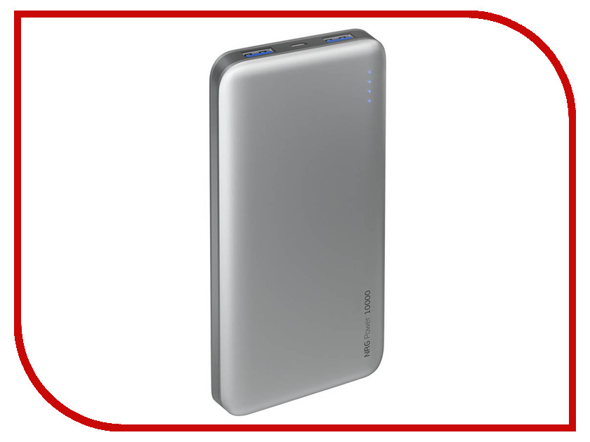 Аккумулятор Deppa NRG Power 10000 mAh Graphite DEP-33538 цена