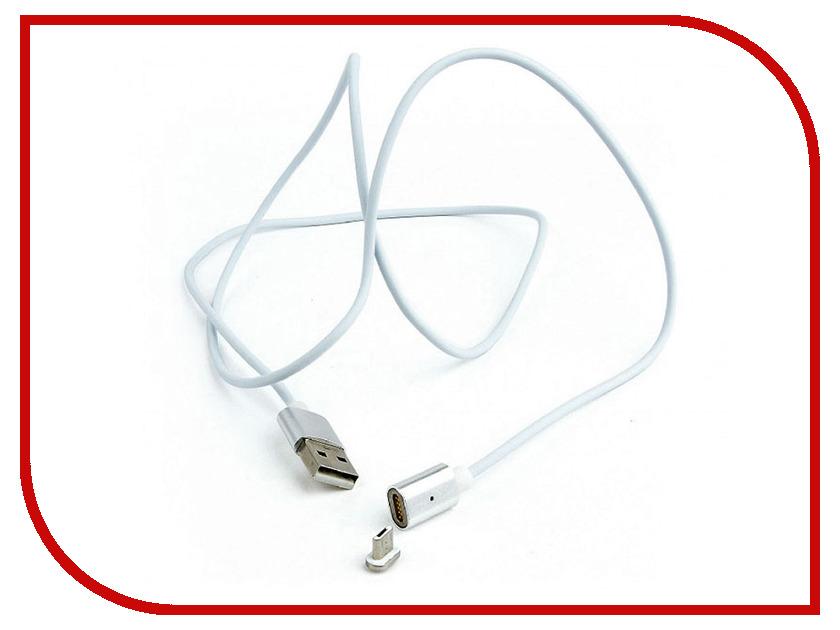 Аксессуар Gembird Cablexpert Magnetic USB 2.0 AM/microBM 5P 1m CC-USB2-AMmUMM-1M аксессуар gembird cablexpert usb 2 0 am microbm 5p 1m violet cc musbp1m