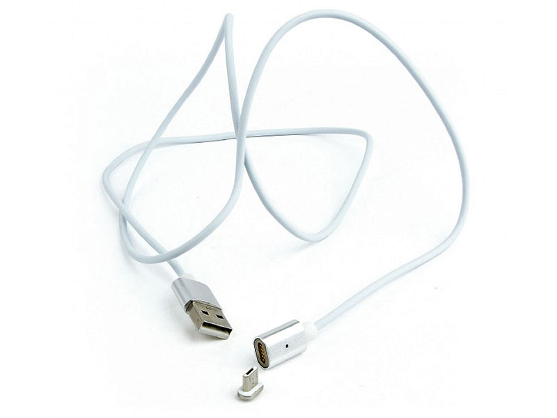 Фото - Аксессуар Gembird Cablexpert Magnetic USB 2.0 AM/microBM 5P 1m CC-USB2-AMmUMM-1M адаптер usb2 0 ps 2 gembird uaps12