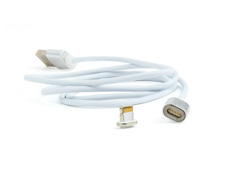 Аксессуар Gembird Cablexpert Magnetic USB 2.0 AM/Lightning 8pin 1m CC-USB2-AMLMM-1M цена 2017