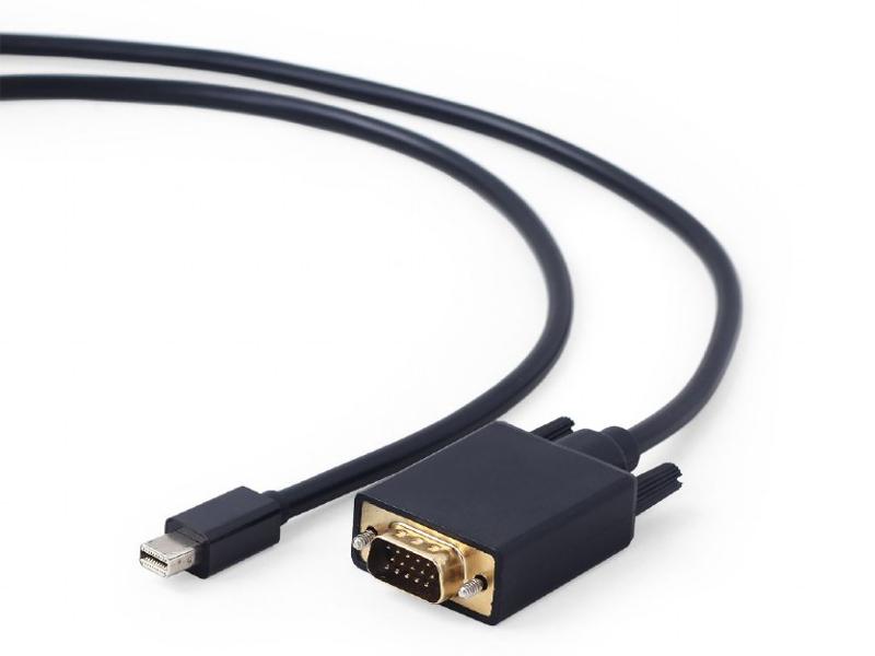 Аксессуар Gembird Cablexpert Magnetic miniDisplayPort - VGA 20M/15M 1.8m Black CC-mDPM-VGAM-6
