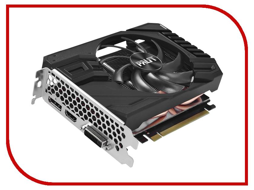 Видеокарта Palit GeForce GTX 1660 Ti StormX OC 1500Mhz PCI-E 3.0 6144Mb 12000Mhz 192 bit DVI HDMI DP NE6166TS18J9-161F системный блок just home intel® core™ i5 7400 3 0ghz s1151 h110m r c si 8gb ddr4 2400mhz hdd sata 2tb 7200 32mb 6144mb geforce gtx 1060 atx 600w
