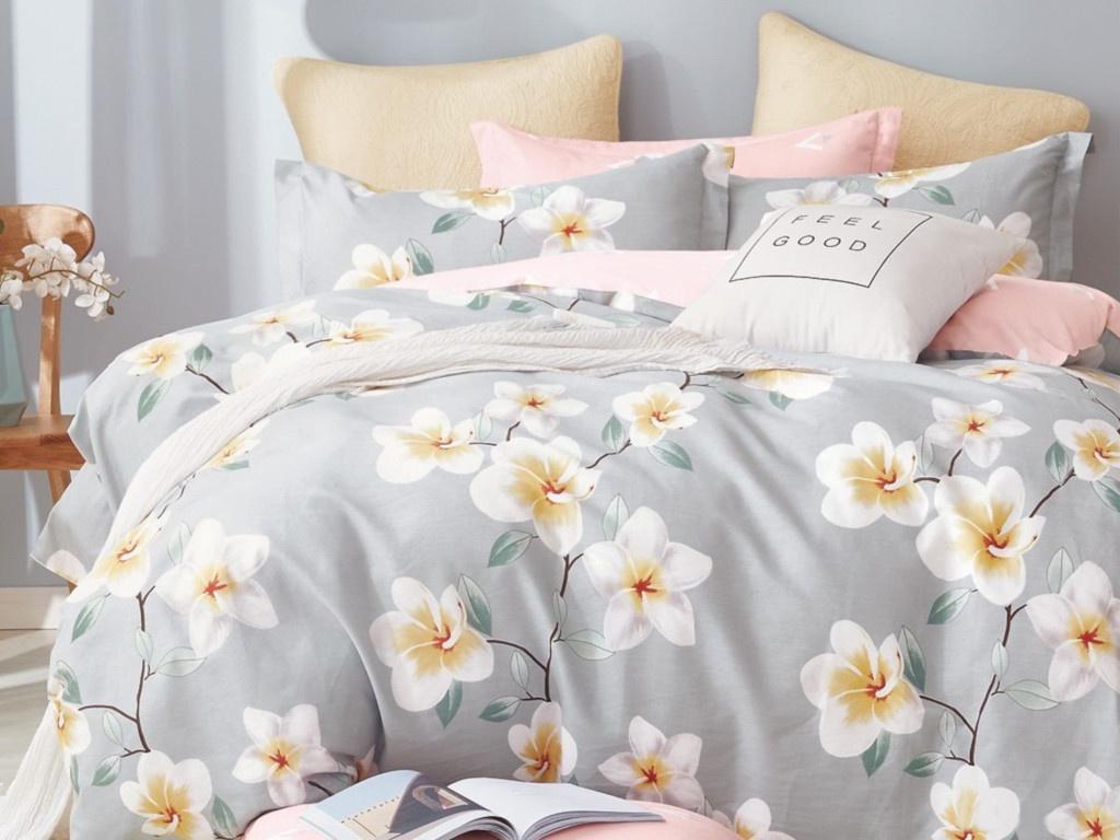 Постельное белье Cleo Satin Lux 20/365-SL Комплект 2 спальный Сатин