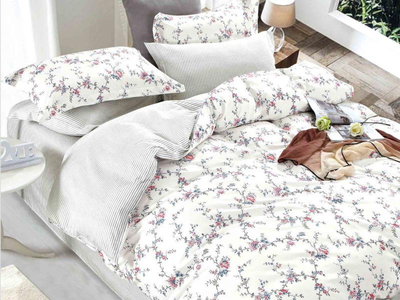 Постельное белье Cleo Satin Lux 41/361-SL Комплект Дуэт Сатин