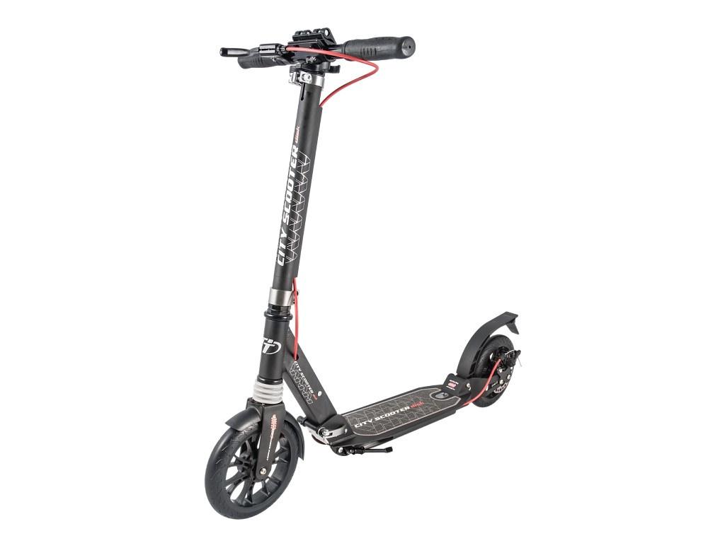 Самокат Tech Team City Scooter Disk Brake 2019 Black-Red самокат scooter