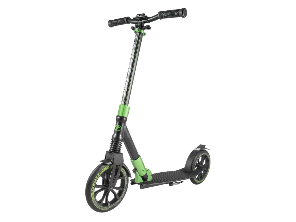 Самокат Tech Team TT 230 Sport 2019 Black-Light Green цена