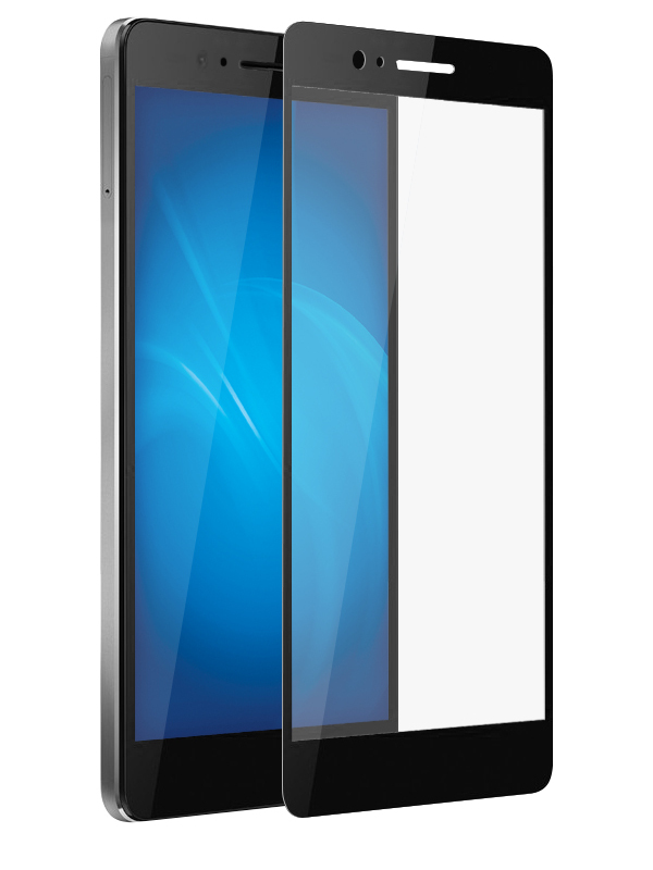 Аксессуар Защитное стекло Optmobilion для Honor 8 2.5D Black
