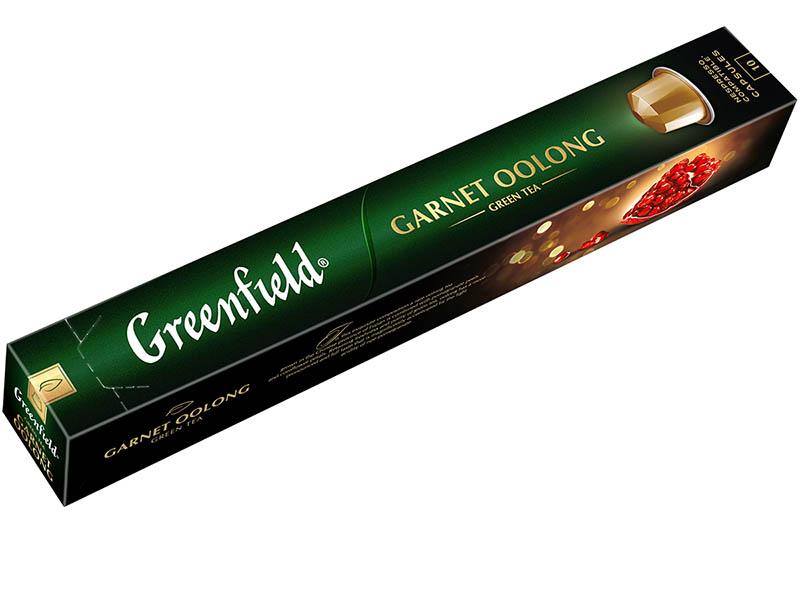 Капсулы Greenfield Чай Garnet Oolong 10шт