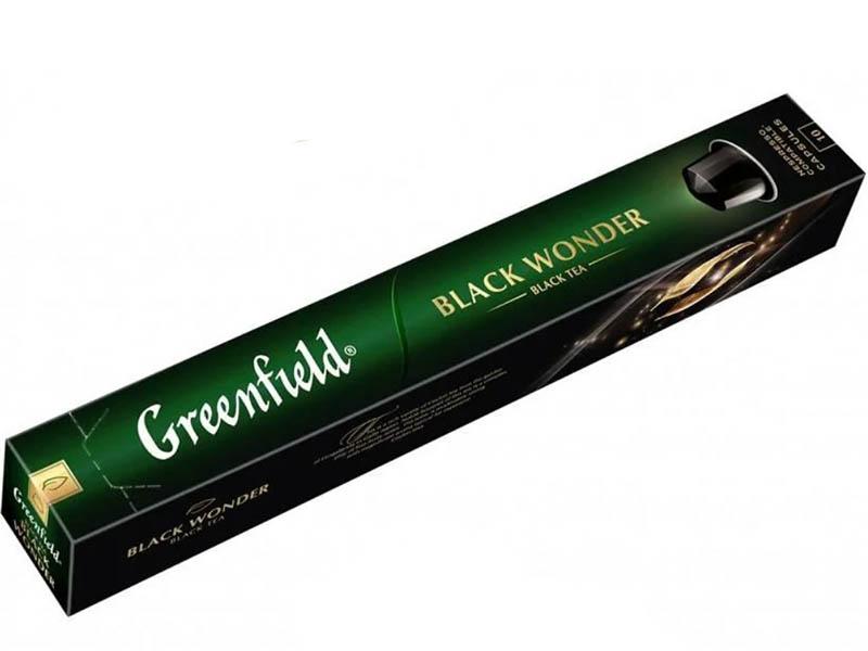 Капсулы Greenfield Чай Black Wonder 10шт