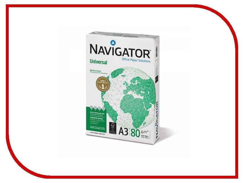 Бумага Navigator Universal А3 80g/m2 500 листов ламинат для спекания 500 листов а3 не формат