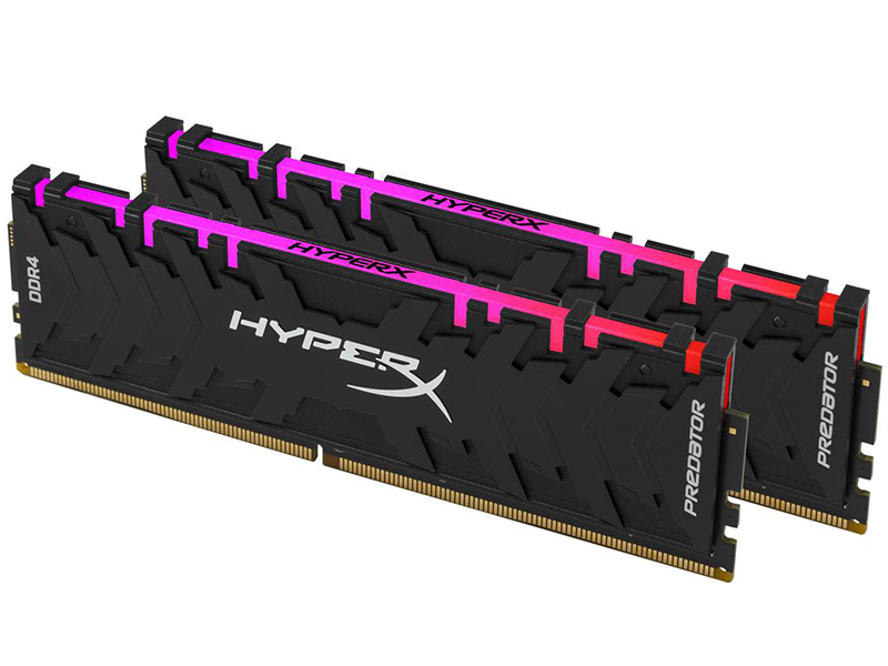 Модуль памяти Kingston HyperX Predator RGB DDR4 DIMM 3000MHz PC4-24000 CL15 - 16Gb KIT (2x8Gb) HX430C15PB3AK2/16