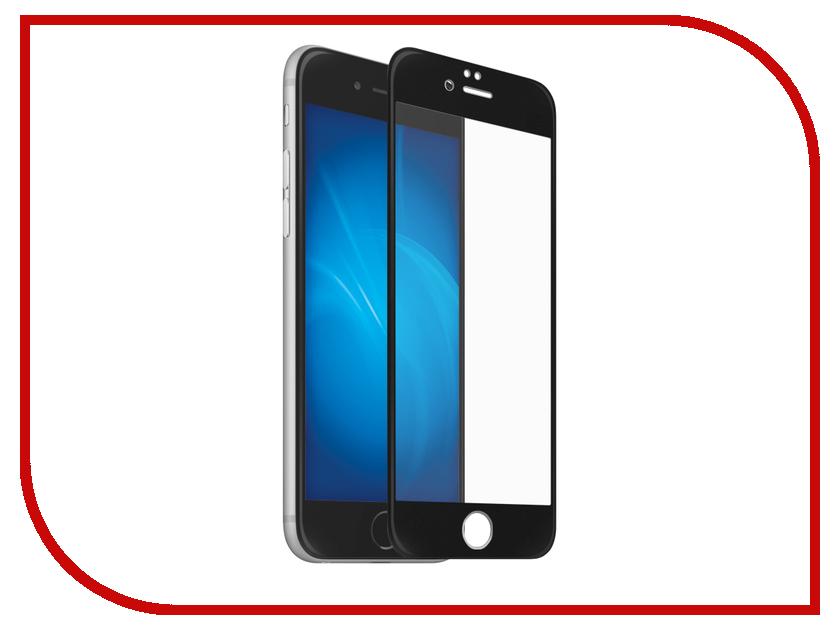 Аксессуар Защитное стекло для APPLE iPhone 7 / 8 Optmobilion 2.5D Black аксессуар чехол innovation jeans для apple iphone 7 8 white 10774