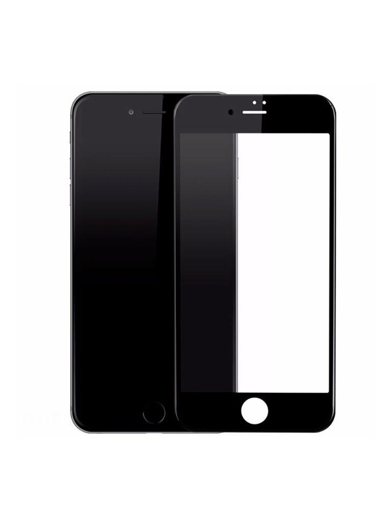 Защитное стекло Optmobilion для APPLE iPhone 7 Plus / 8 Plus Full Glue Plus 2.5D Black цена и фото
