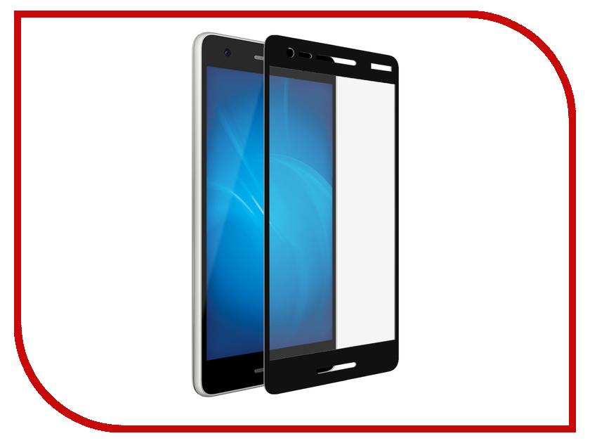Аксессуар Защитное стекло для Nokia 2.1 Optmobilion 2.5D Black