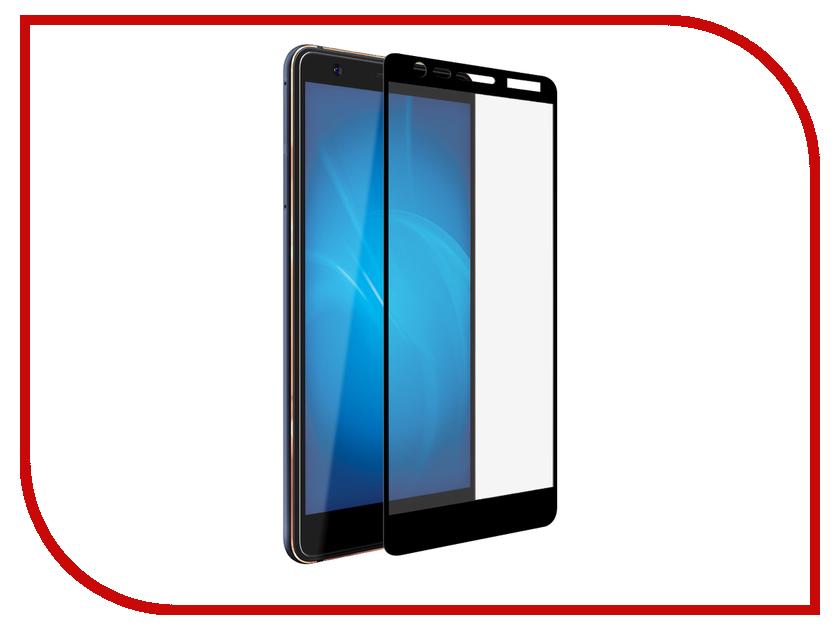 Аксессуар Защитное стекло для Nokia 3.1 Optmobilion 2.5D Black аксессуар защитное стекло nokia 3 5 inch gecko 0 26mm zs26 gnok3