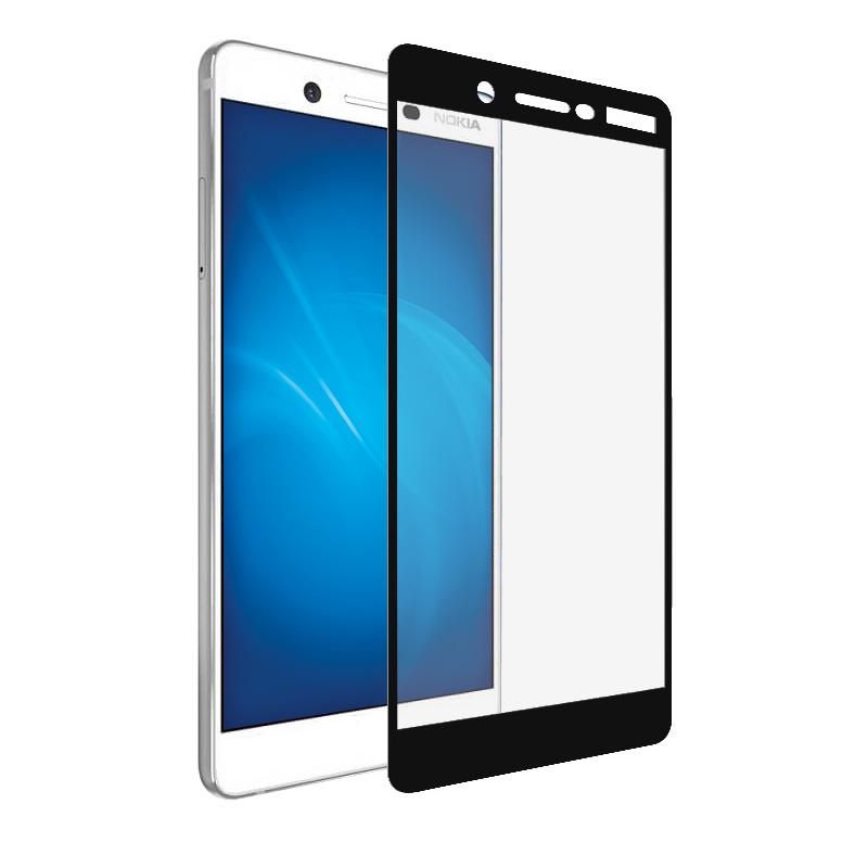 Аксессуар Защитное стекло Optmobilion для Nokia 7 / 7 2018 2.5D Black