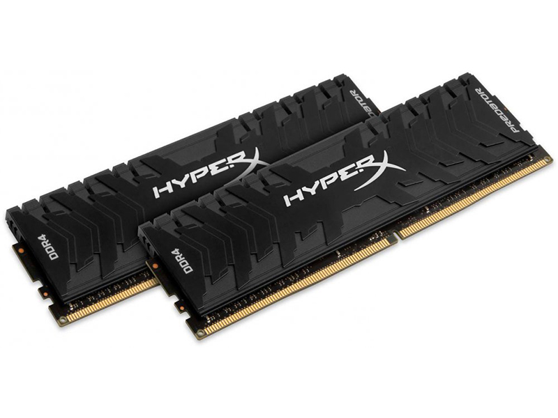 Модуль памяти Kingston HyperX Predator DDR4 DIMM 3200MHz PC4-25600 CL16 - 32Gb KIT (2x16Gb) HX432C16PB3K2/32