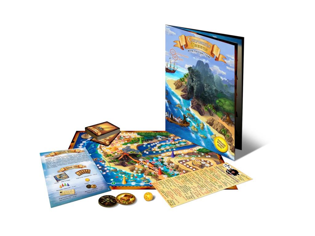 Настольная игра Нескучные игры Сокровища Флинта 7899