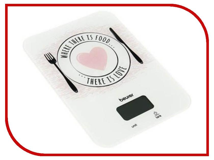 Весы Beurer KS 19 Love White-Black-Pink ks is lisu ks 225 13800 mah blue