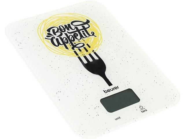 лучшая цена Весы Beurer KS 19 Bon Appetit White