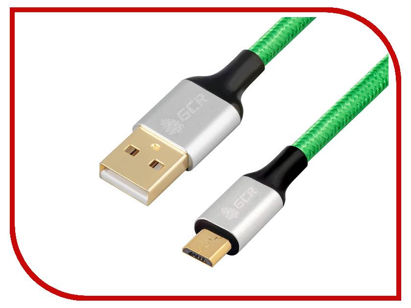 Аксессуар Greenconnect USB 2.0 AM - Micro B 5pin 3m Green-Black GCR-51101 1pcs free shipping 51100 51101 51102 51103 zro2 full ceramic thrust ball bearing 10x24x9 12x26x9 15x28x9 17x30x9mm