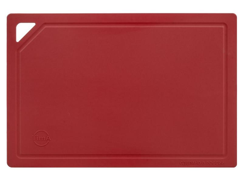 Доска разделочная TimA 31x21cm Burgundy ДРГ-3022