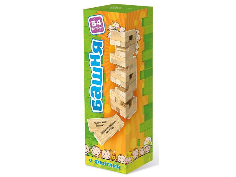 Настольная игра Нескучные игры Башня с заданиями для детей 7746