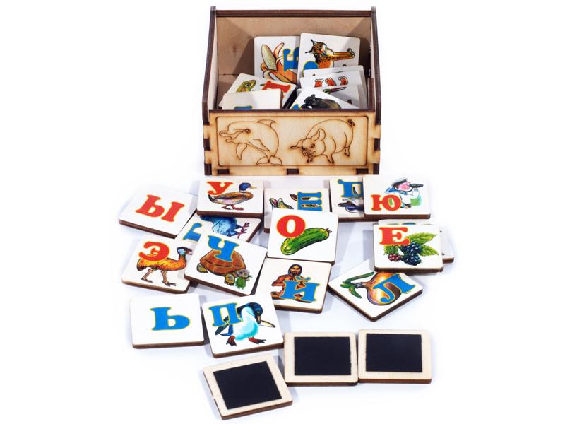 Магнитная азбука Нескучные игры К-0554