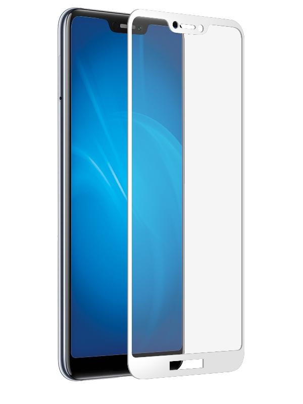 Аксессуар Защитное стекло Optmobilion для Honor Play 2.5D White